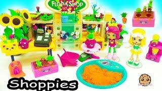 Shopkins Happy Places Shoppies Doll Flower Garden + Surprise Blind Bags in Dirt ?