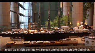 Sunday Brunch Buffet At The Mandarin Oriental Hotel, Tokyo.