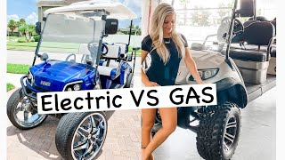 Electric Golf Cart Vs Gas / New 2020  Icon Electric GOLF CART