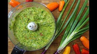 Caribbean Green Seasoning -The Ultimate Marinade   CaribbeanPot.com