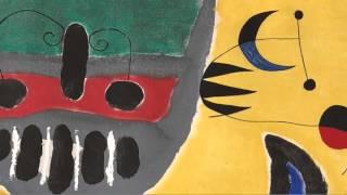 La Tige de La Fleur Rouge Pousse Vers La Lune (Miró)