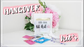 DIY Hangover Kit | Wedding, Bachelorette, Party Favor