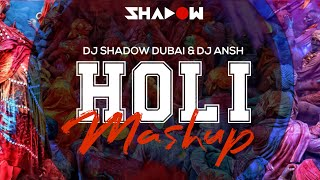 DJ Shadow Dubai & DJ Ansh - Holi Mashup