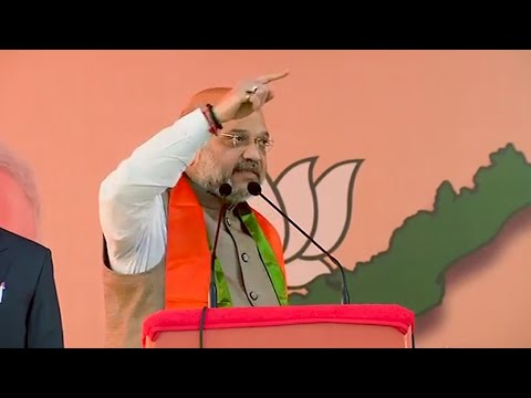 अमित शाह ने कांग्रेस पर पुलवामा हमले का राजनीतिकरण करने की कोशिश करने का आरोप लगाया