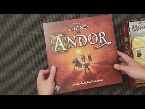 Legends of Andor - Whats in the box?