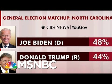 Joe Biden Leading Trump In North Carolina: Poll | Morning Joe | MSNBC