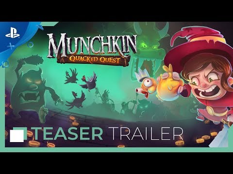 Munchkin: Quacked – Announcement Trailer | PS4