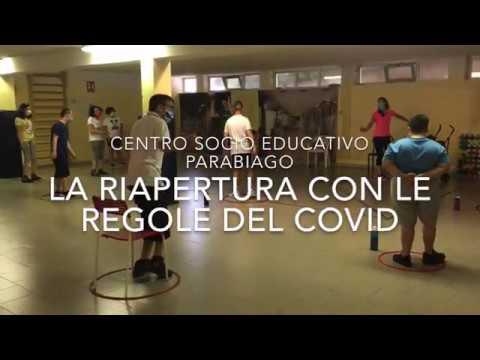 Dentro il centro socio educativo di Parabiago, riaperto con le regole anti-covid
