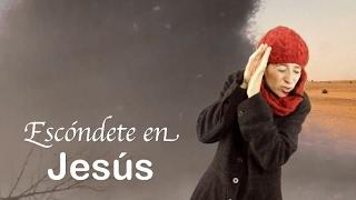 Escóndete en Jesús. Devocionales cristianos. Miss Nat. Amy & Andy