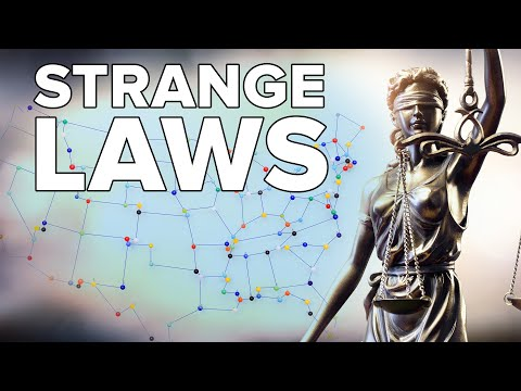 Weird Laws From All 50 US States