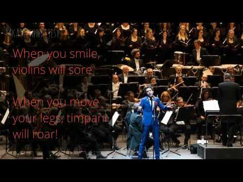 Mika- Sound Of An Orchestra With Lyrics 🎻💛