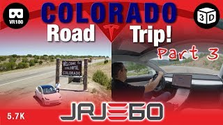 Tesla Model 3 Road Trip - Utah/Colorado (Part 3) VR180 3D 5.7K PoV (passenger)