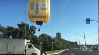 Primeiro voo Balão-Casa da Pacaembu Construtora