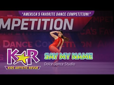 """Say My Name"" from Dolce Dance Studio"