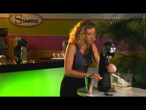 video 1, DRINK MIXER - SHAKER ELECTRIQUE - 3 OUTILS - 2 BOL
