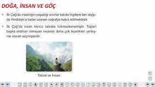 Eğitim Vadisi 9.Sınıf Tarih 7.Föy Kanunlar Doğuyor, Doğa ve Göç Konu Anlatım Videoları