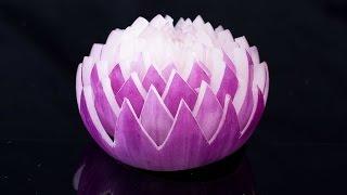 Garnish Flower – Red Onion