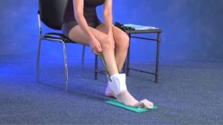 How To Put On Or Take Off Compression Stockings   YouTube