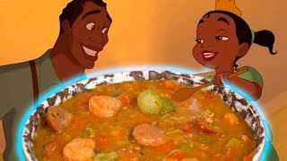 How To Make Princess Tianas GUMBO From The Princess And The Frog!