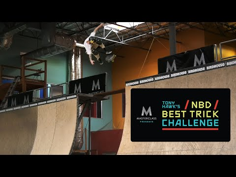 MasterClass Presents Tony Hawk's NBD/Best Trick Challenge: Men's Finals
