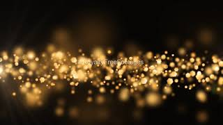 Gold particles background effect || Dark background || Free & High resolution