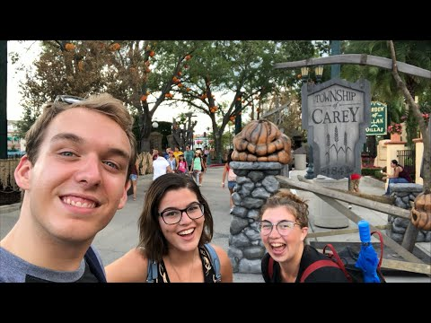 HHN Prep at Universal - Early Night Live