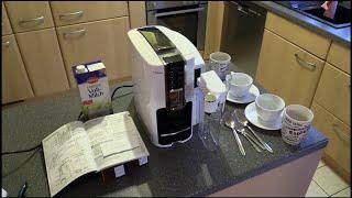 Tchibo Saeco Cafissimo LATTE Kapselmaschine - mit Milchkaraffe