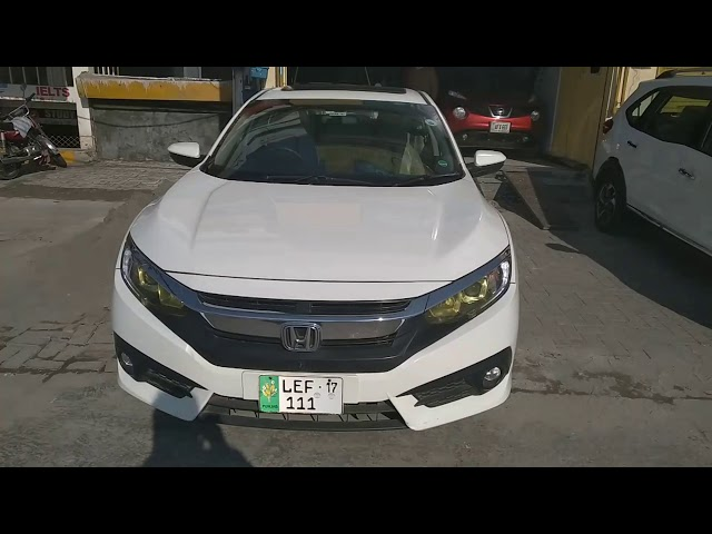 Honda Civic Oriel 1.8 i-VTEC CVT 2017 for Sale in Lahore