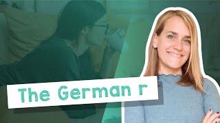 German Lesson (4) - The German 'r' - A1