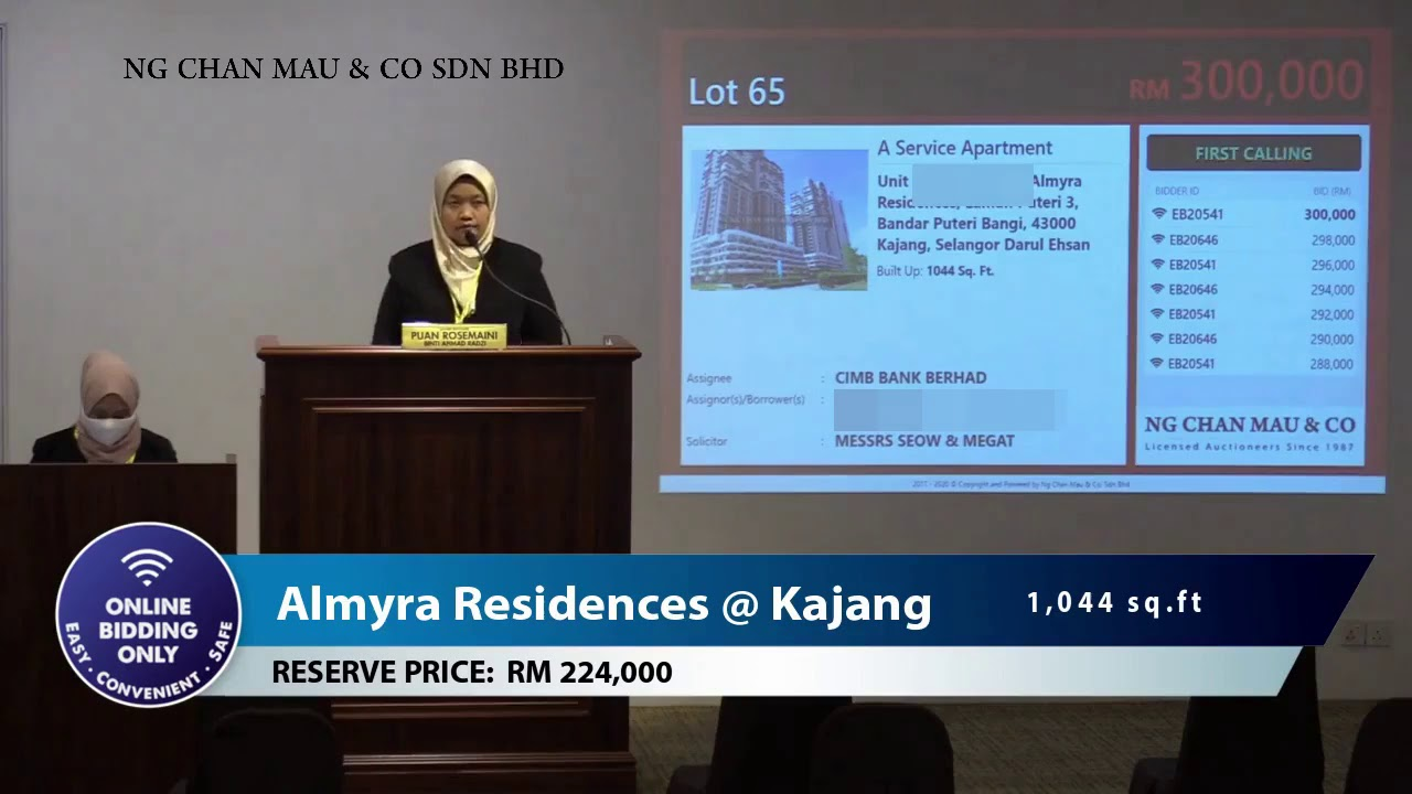 Move into your dream home in Almyra Residences, Kajang from RM224K!