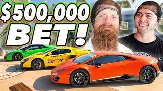 The HALF MILLION Dollar bet - Fred vs Vehicle Virgins