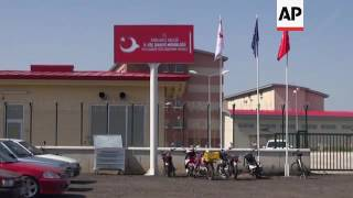 turkish camp ready to receive returned migrants