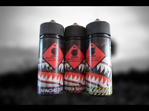 YouTube Video zu Bang Juice Division Apache Zulu Longfill Aroma 30 ml für 120 ml
