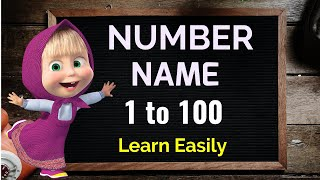Number Name, Number Name 1 to 100, Number with spelling, Number song, Counting with spelling