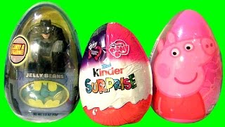 KInder Egg Surprise My Little Pony Peppa Pig The Dark Knight Batman by TOYS CLUB