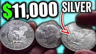 1776 TO 1976 EISENHOWER DOLLAR COINS WORTH MONEY - RARE SILVER IKE DOLLAR COIN VALUES!!