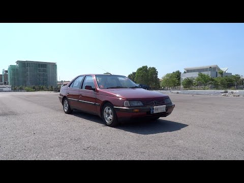 1995 Peugeot 405 2.0 SRi Automatic Start-Up, Full Vehicle Tour and Quick Drive