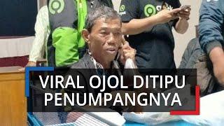Viral Ojek Online Ditipu Penumpang saat Antar Purwokerto-Solo, Ditinggal Kabur saat Salat