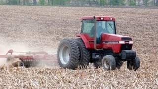 Case IH 7120 Tractor on 4-14-2012, Near Lily Lake, Illinois