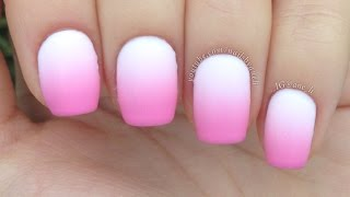 HOW TO MAKE PERFECT GRADIENT NAILS