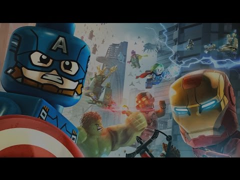 LEGO Marvel Vengadores Pelicula Completa Español - Todas Las Cinematicas - Game Movie 1080p