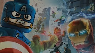 LEGO Marvel Vengadores Pelicula Completa Español  Todas Las Cinematicas  Game Movie 1080p