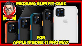 MKOAWA Slim Fit Case for Apple iPhone 11 Pro Max Unboxing and Review
