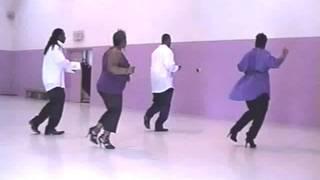 STEP/LINE DANCE - FLOATIN' LINE DANCE BY 360 DEGREE DIVAS & GENTS