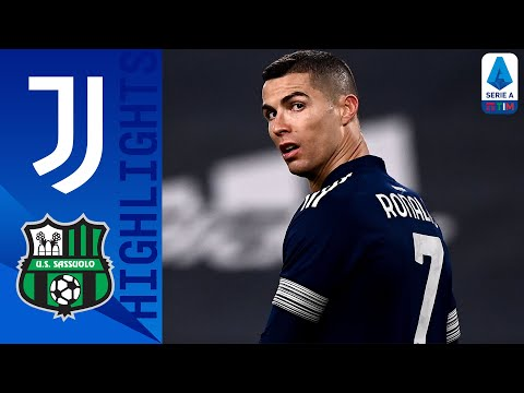 Juventus 3-1 Sassuolo | Ramsey and Ronaldo strike late to help hosts up to fourth | Serie A TIM