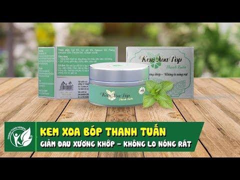 Kem xoa bóp Thanh Tuấn - Giảm đau xương khớp - không lo nóng rát