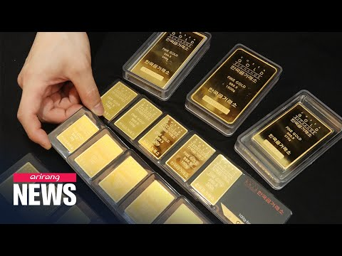 Gold price in S. Korea closes at US$ 61.28, biggest daily drop since KRX market opened