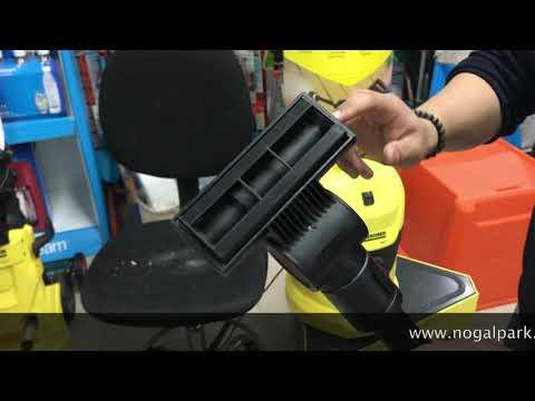 boquilla turbo para tapizados para aspiradora karcher wd3 y otros modelos de aspiradoras karcher