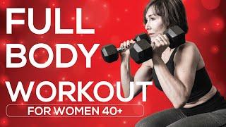 Strength Training for Women Over 40 MADE EASY!