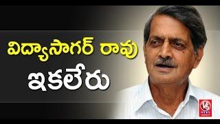 Telangana Govt Irrigation Advisor Vidyasagar Rao Passes Away